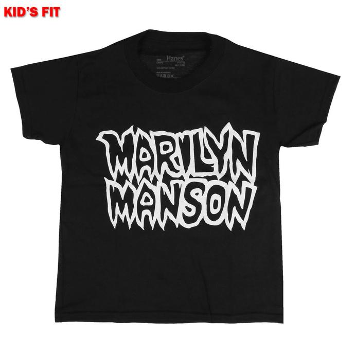 Maglietta da bambini Marilyn Manson - Classic Logo - ROCK OFF