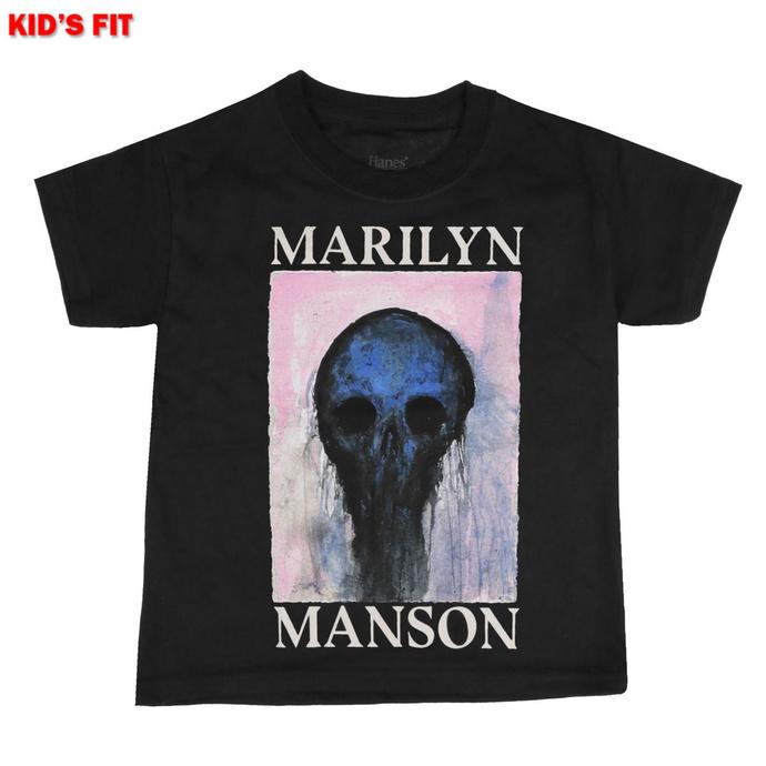 maglietta da bambini Marilyn Manson - Halloween Painted Hollywood - ROCK OFF