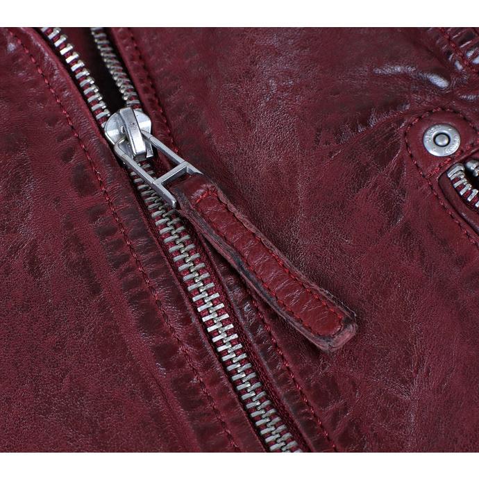 Giacca da motociclista da donna GGSami LACAV - OX RED