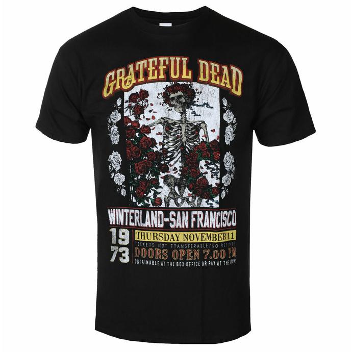 Maglietta da uomo Grateful Dead - San Francisco - ROCK OFF