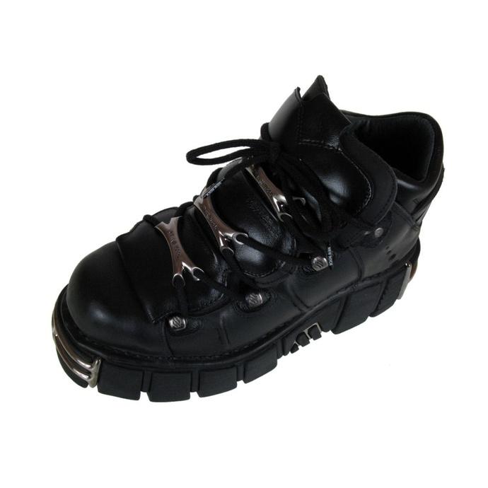 Scarpe NEW ROCK - String Shoes (106-S1) Nero - DANNEGGIATE