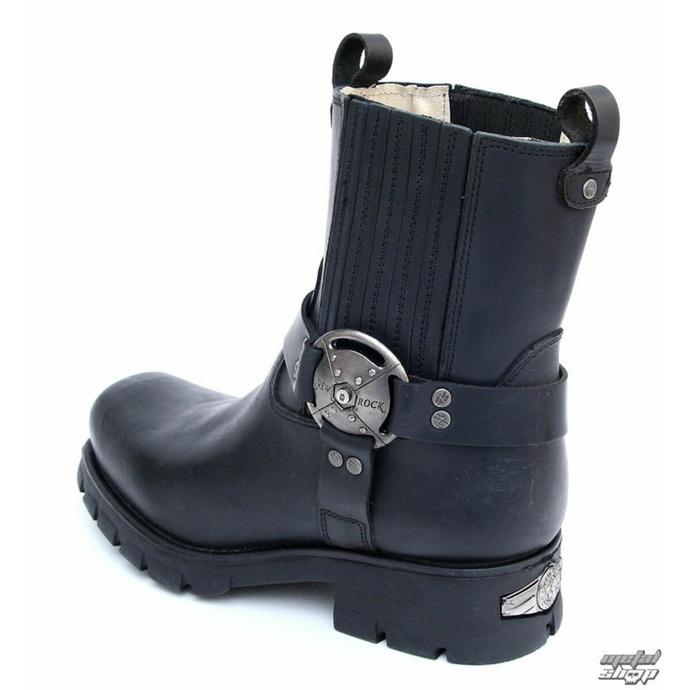 Anfibi NEW ROCK - 7605-S1 - Itali negro