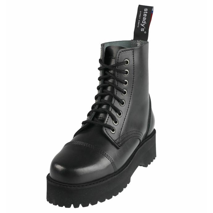Stivali STEADY´S - 8 buchi - Nero - STE/804_black - DANNEGGIATI