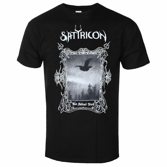 Maglietta da uomo SATYRICON - DMT 2021 - NERO
