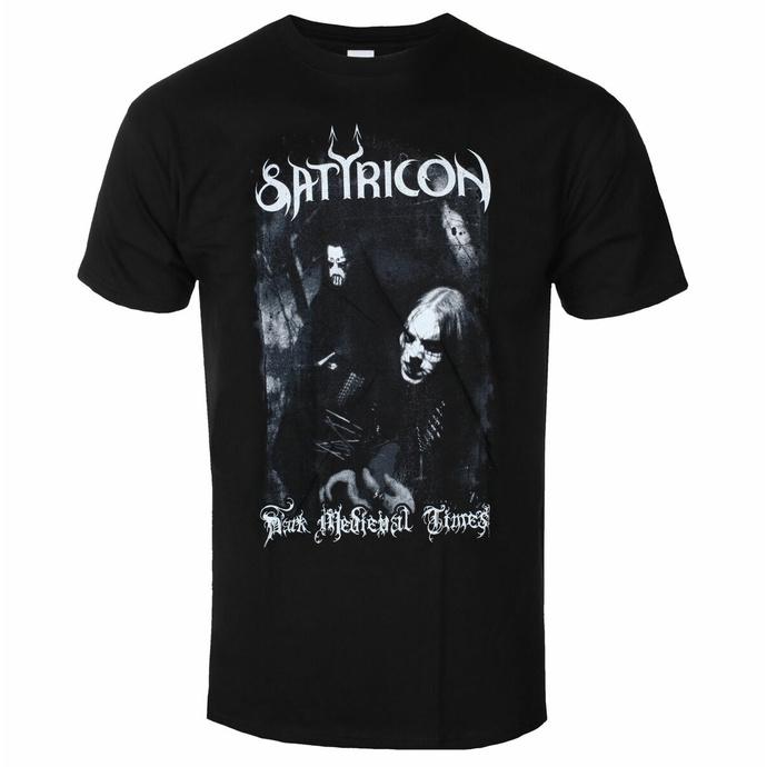 Maglietta da uomo SATYRICON - Dark Medieval Times - NAPALM RECORDS