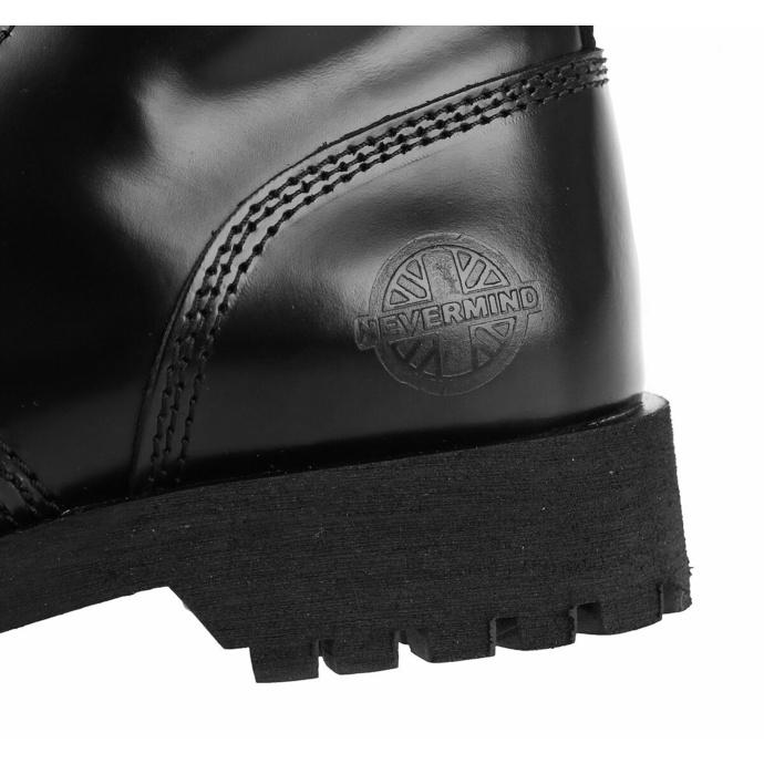 Stivali NEVERMIND - 30-buchi - BLACK POLIDO