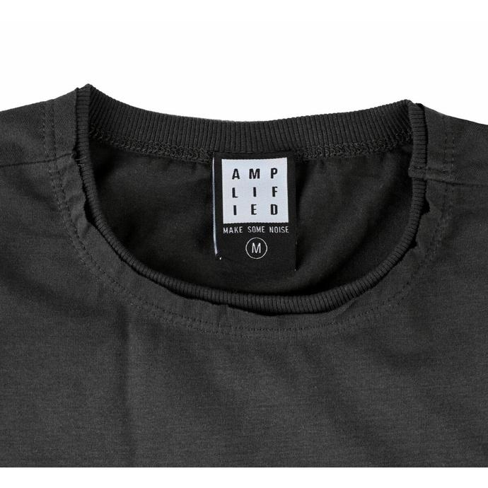 Maglietta da uomo OASIS - LOGO - CHARCOAL - AMPLIFIED