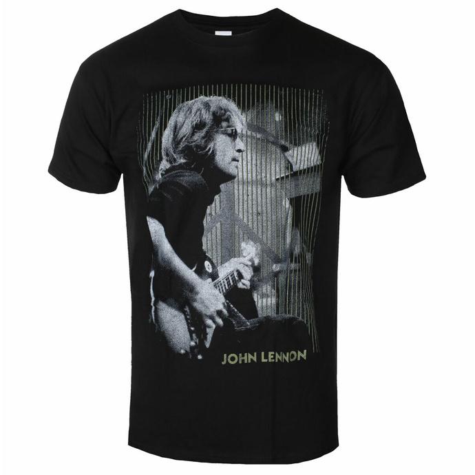 Maglietta da uomo John Lennon - Gibson BL - ROCK OFF