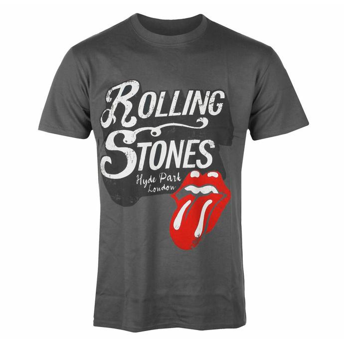 Maglietta da uomo Rolling Stones - Hyde Park CHAR - ROCK OFF