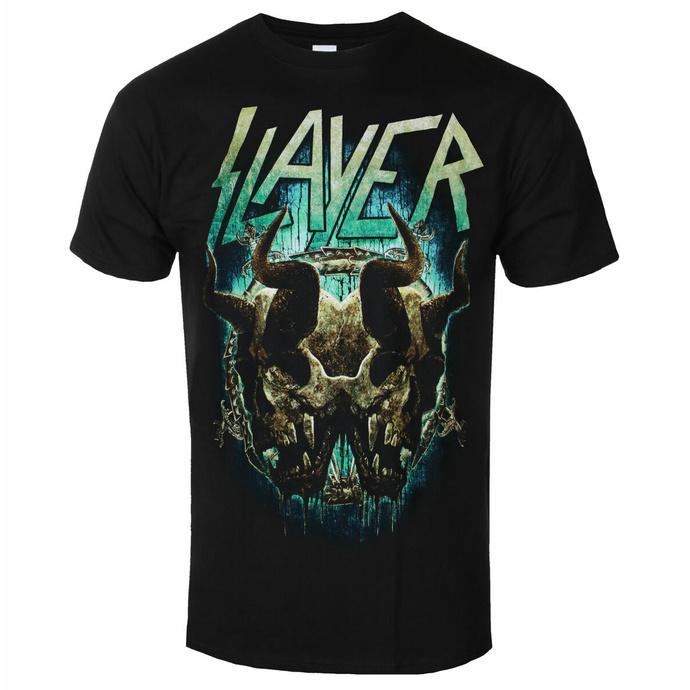 Maglietta da uomo Slayer - Demonic Twin BL - ROCK OFF