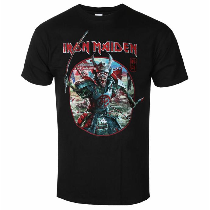 Maglietta da uomo Iron Maiden - Eddie Warrior Circle BL - ROCK OFF
