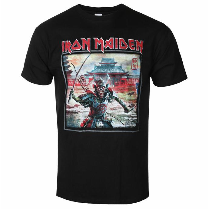 Maglietta da uomo Iron Maiden - Album Palace Keyline Square BL - ROCK OFF