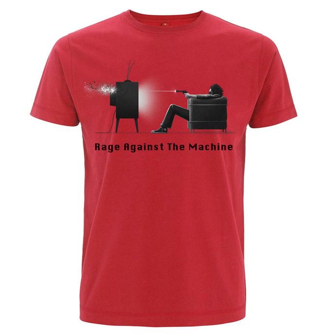 Maglietta da uomo Rage against the machine - Won't Do - Rosso