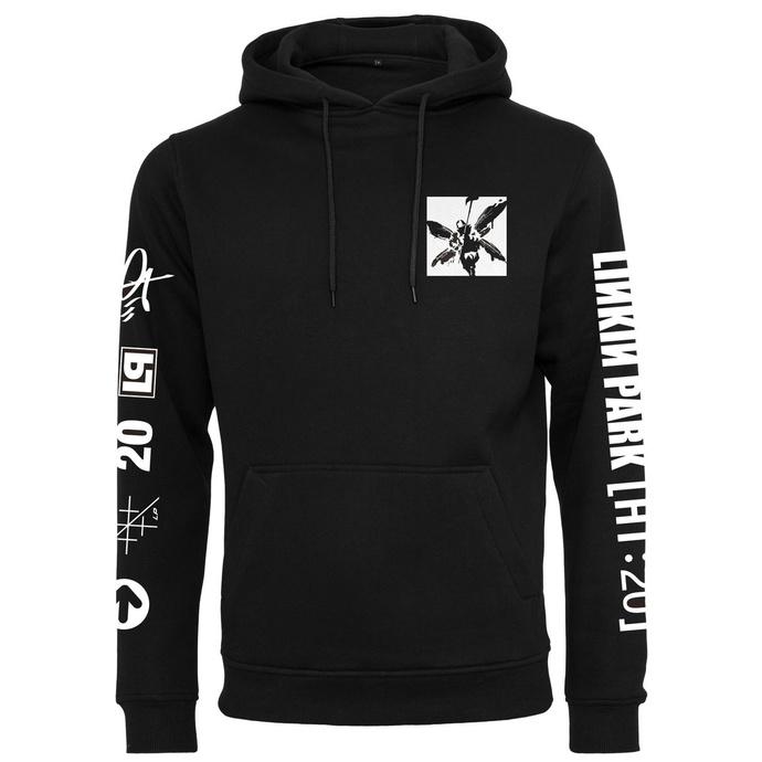 Felpa con cappuccio unisex Linkin Park - Anniversary Logo - nero