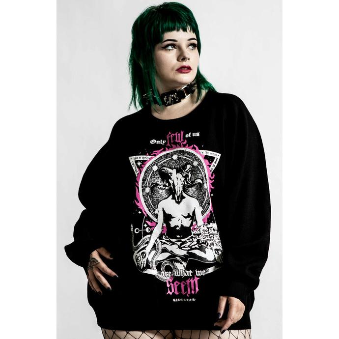 Maglione da donna KILLSTAR - Meditation Batwing - nero