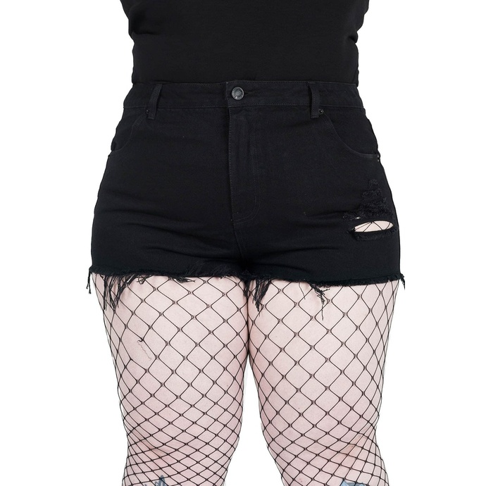 Pantaloncini da donna KILLSTAR - Nothing Goes Denim