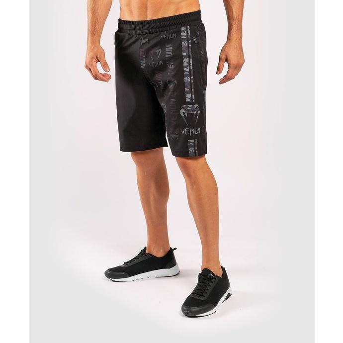 Pantaloncini da uomo VENUM - Logos Training - Nero / Urban Camo