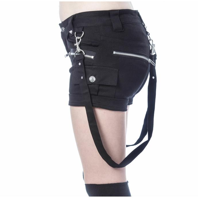 Pantaloncini da donna VIXXSIN - ANALIA - NERO