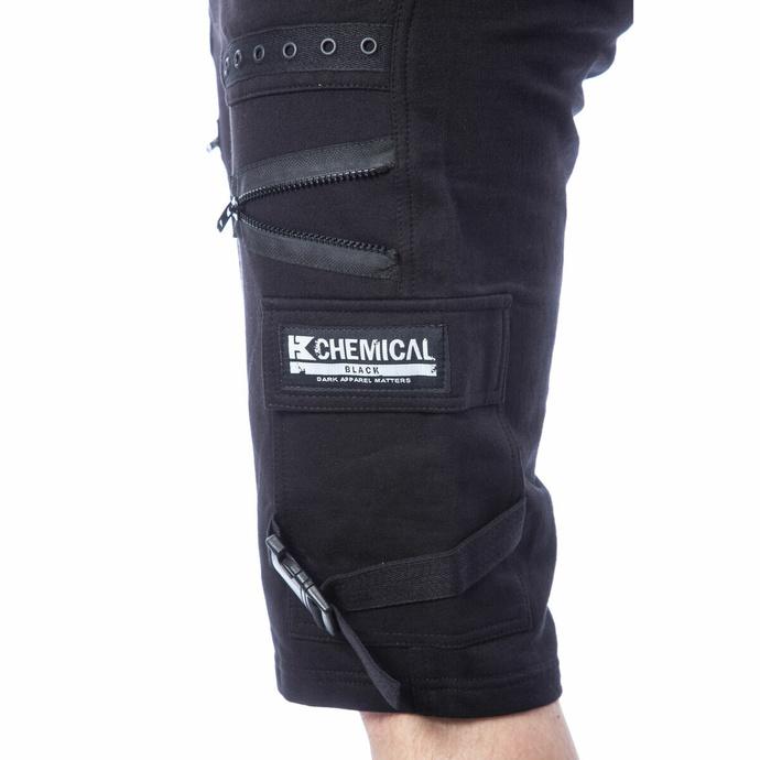 Pantaloncini da uomo CHEMICAL BLACK - ASCELIN - NERO
