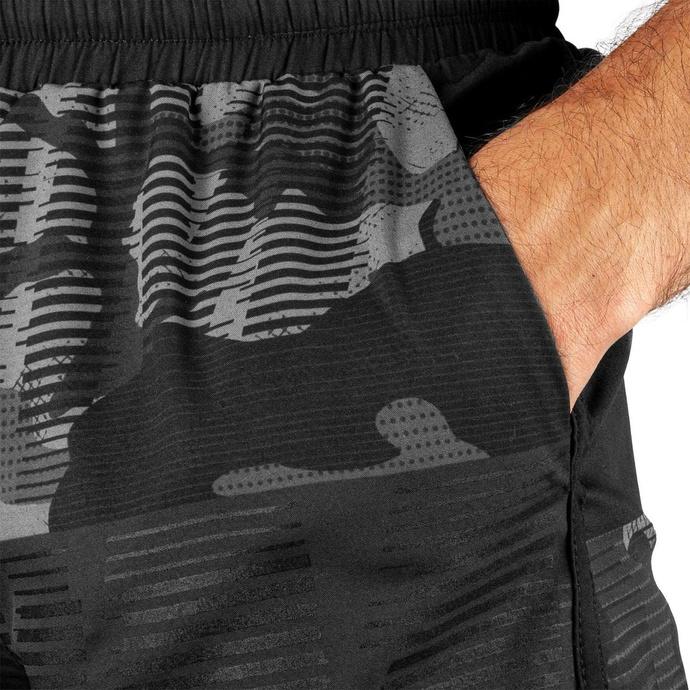 Pantaloncini da uomo VENUM - Tactical Training - Urban Camo / Nero / Nero
