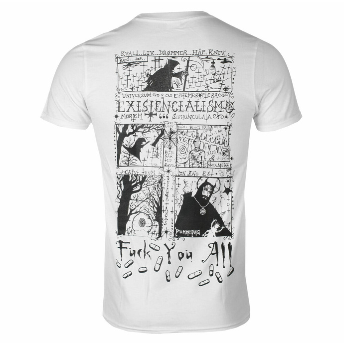 Maglietta da uomo Carpathian Forest - Evil Egocentric Existentialism - bianca - SEASON OF MIST