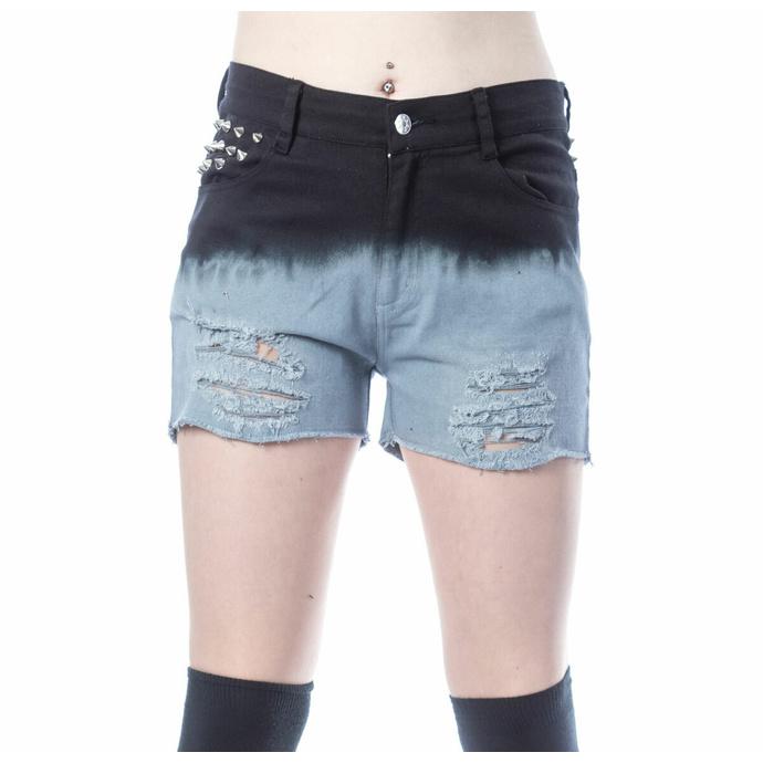 Pantaloncini da donna VIXXSIN - GAIA - NERO/GRIGIO