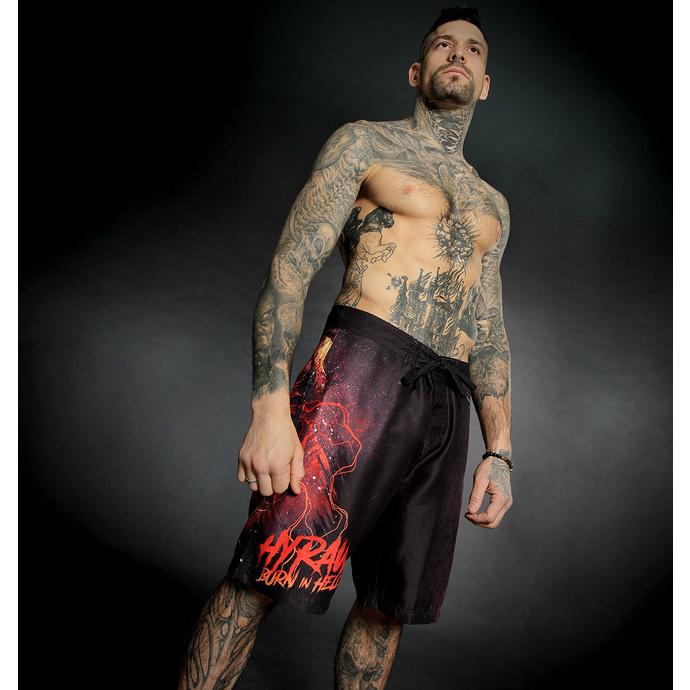 Costume da bagno (pantaloncini) da uomo HYRAW - BURN IN HELL