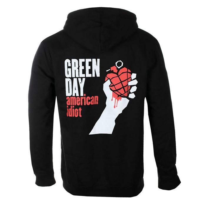 Felpa da uomo Green Day - American Idiot - ROCK OFF