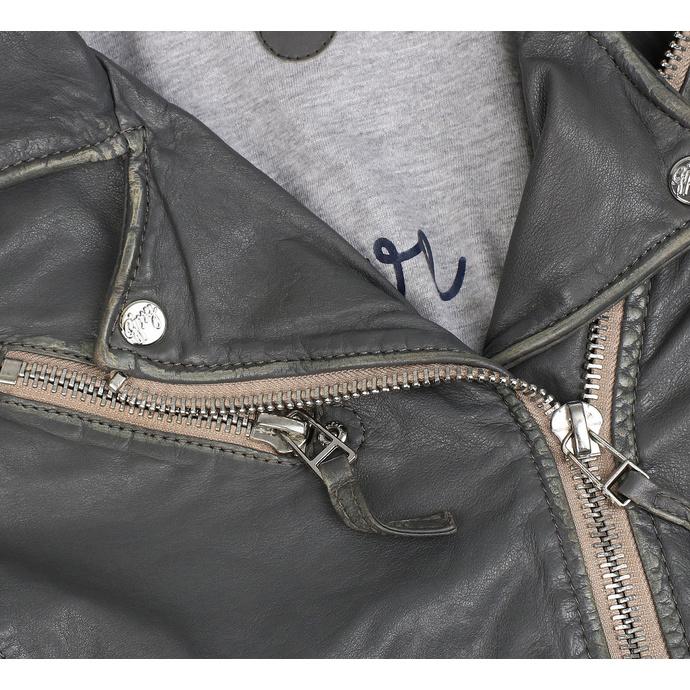 Giacca da motociclista da donna PGG W20 LABAGV - DARK GREY