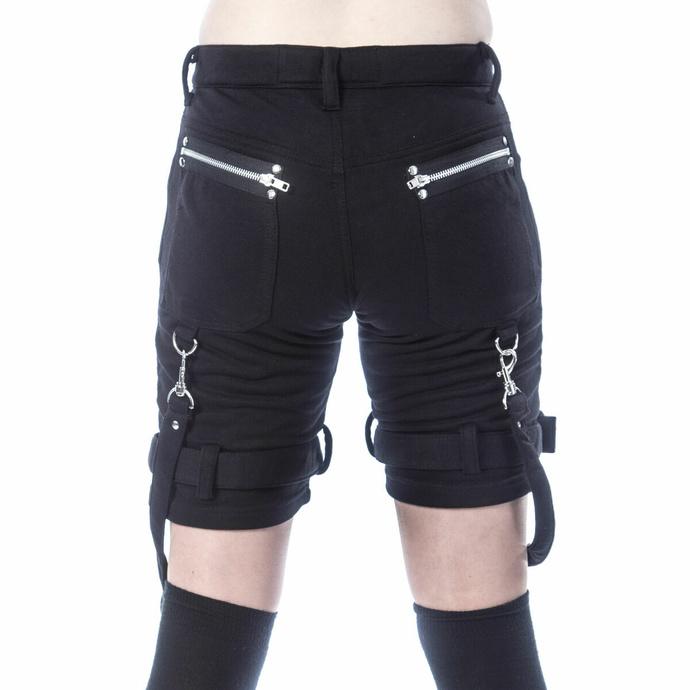 Pantaloncini da donna (sportivi) CHEMICAL BLACK - RENITA - NERO