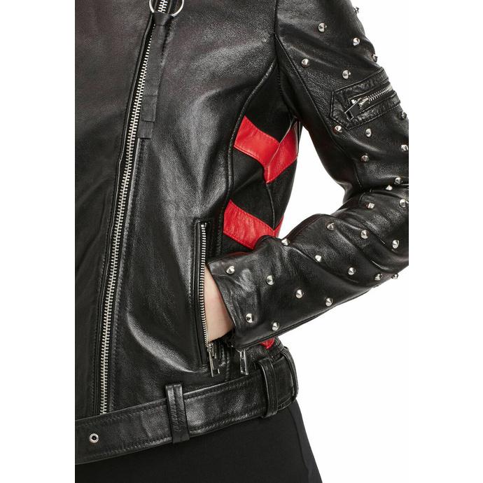 Giacca da donna (da motociclista/chiodo) 2 G2WTaly - SF LAROXV - Nero / Rosso