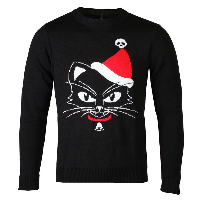 Maglione da donna ALCHEMY GOTHIC - Black Cat