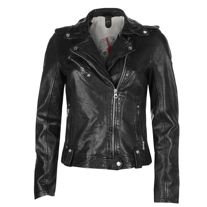 Giacca da motociclista da donna Famos LAOSV - black
