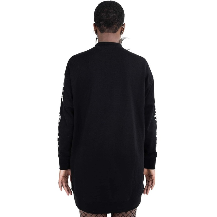 Felpa da donna (vestito) KILLSTAR - Survival Kit Maglione - Nero