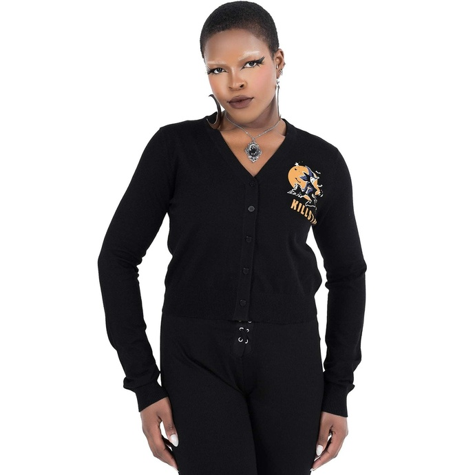 Maglione (cardigan) da donna KILLSTAR - Witch Queen Cardigan - Nero