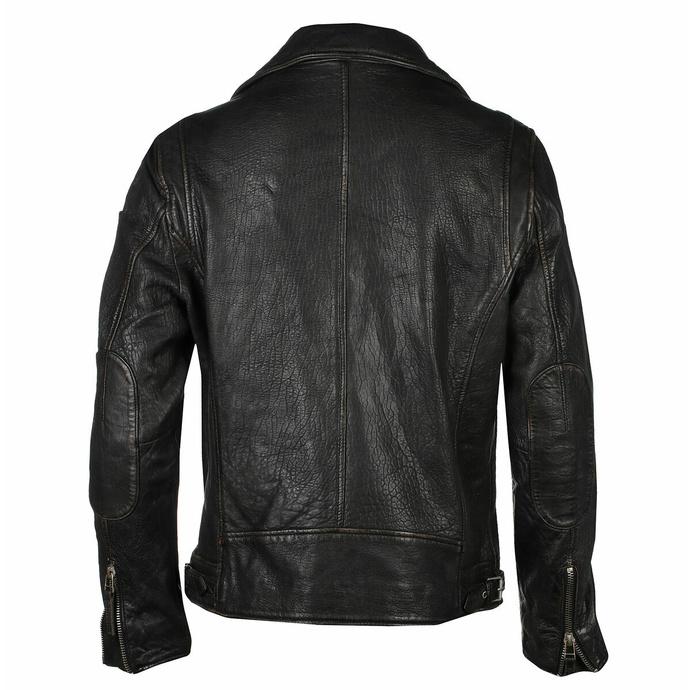 Giacca da motociclista da uomo Mavric SF NSLV - nero