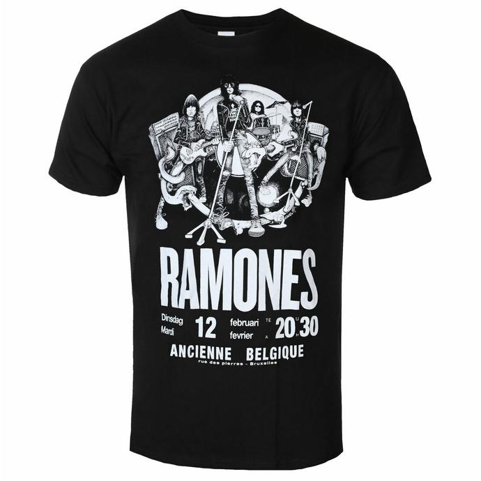 Maglietta da uomo Ramones - Belgio - ROCK OFF
