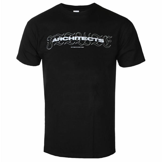 Maglietta da uomo Architects - FTTWTE - Nero - KINGS ROAD