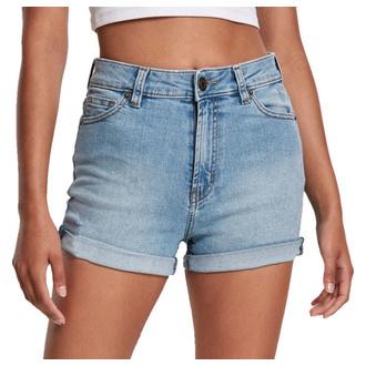 Pantaloncini da donna URBAN CLASSICS - lt. authenticblue washed, URBAN CLASSICS