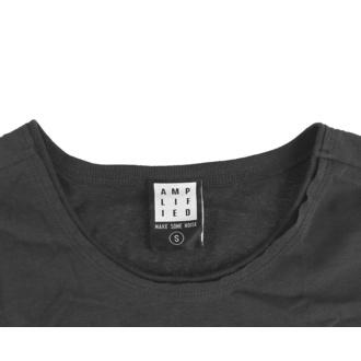 Da donna vestito QUEEN - YELLOW CREST - CARBONE - AMPLIFIED