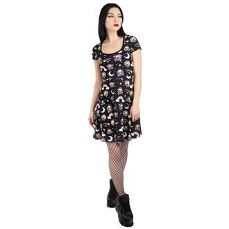 Vestito da donna KILLSTAR - Not Cute Skater - NERO