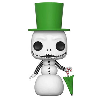 figura Nightmare before Christmas - POP! - Pupazzo di neve Jack, NIGHTMARE BEFORE CHRISTMAS