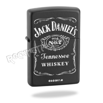 accendino ZIPPO - Jack Daniels - NO. 1, ZIPPO