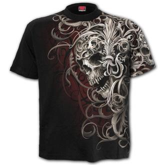 t-shirt uomo - SKULL SHOULDER WRAP - SPIRAL, SPIRAL