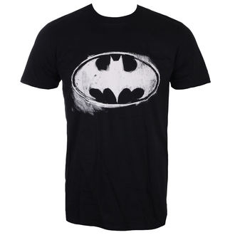 t-shirt film uomo Batman - LOGO MONO DISTRESSED - LIVE NATION, LIVE NATION