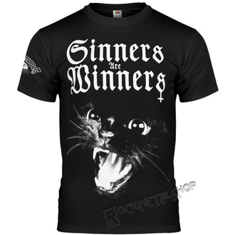 t-shirt hardcore uomo - SINNERS ARE WINNERS - AMENOMEN, AMENOMEN