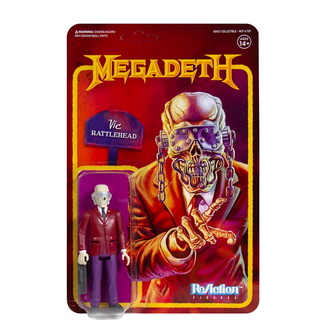 Action figure Megadeth - Vic Rattlehead, NNM, Megadeth