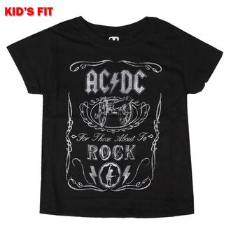 Maglietta da bambini AC/DC - Vtge Cannon Swig - ROCK OFF, ROCK OFF, AC-DC