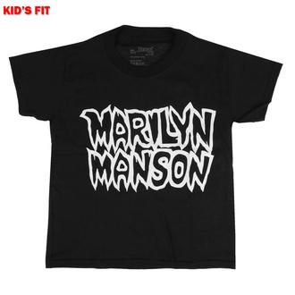 Maglietta da bambini Marilyn Manson - Classic Logo - ROCK OFF, ROCK OFF, Marilyn Manson