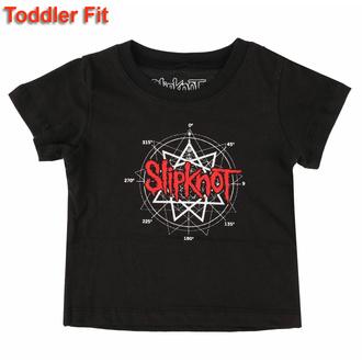 Maglietta da bambini Slipknot - Star Logo - ROCK OFF, ROCK OFF, Slipknot